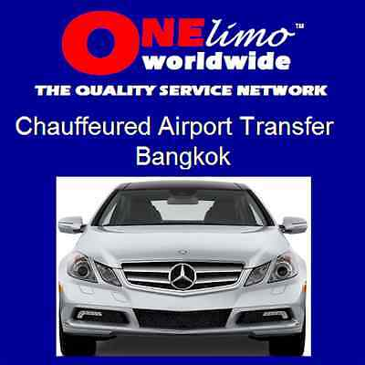 ONElimo BANGKOK Chauffeured Sedan Car Airport Transportation Transfer Service
