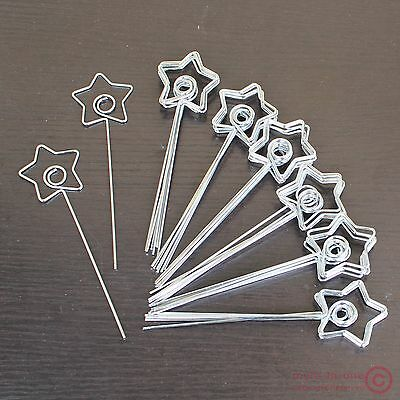 Lot 50pcs DIY craft star wire card photo memo picture holder clips,wedding place