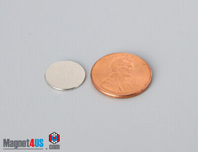 "150 hobby craft war games magnet Neodymium Rare earth Disc 1/2""dia x 1/32""thick"