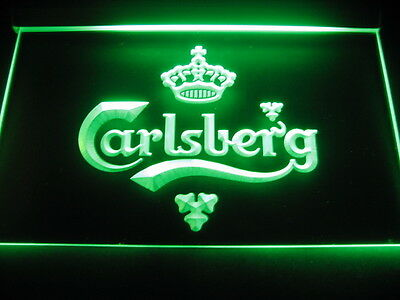 W0101 B Carlsberg Beer Bar Pub Displays LED Light Sign