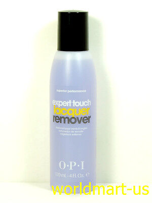 OPI GelColor Expert Touch Lacquer Remover Soak Off Polish 120 ml / 4 fl oz