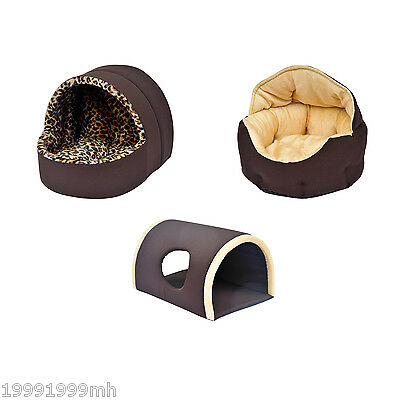 PawHut Pet Bed Dog Cat Small Animals House Soft Nest