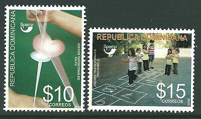 Dominican Republic 2009 - America Issue Toys and Games Children - Sc 1476/7 MNH