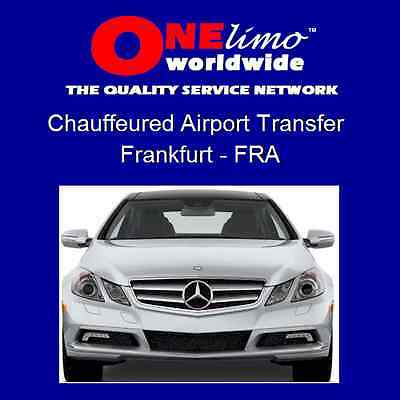ONElimo FRANKFURT Chauffeured Sedan Car Airport Transportation Transfer Service