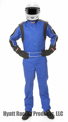 Pyrotect 1-Layer 1-Piece Auto Racing Fire Suit SFI 1 - All Sizes & Colors