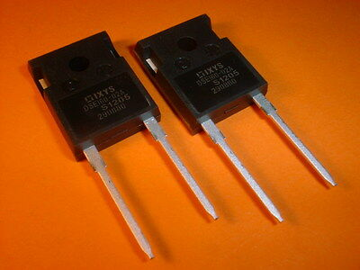 2x 200V/60A Fast Recovery Diode 35nS DSEI 60-02A