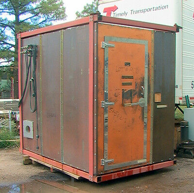 "Lindgren RF Enclosure Faraday Cage Screen Room Solid Copper 110x70x90"" chamber"