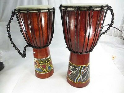 2 djembe drums-wholesale djembe drum 20x8inch hand percusssion Africa style drum