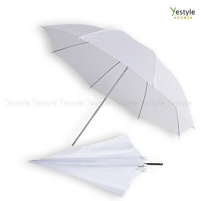 "84cm 33"" Photographic Umbrella White Shoot Through for Studio Speedlite Flash"