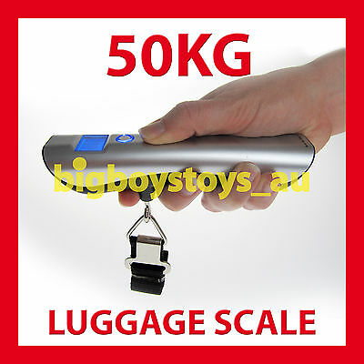 Digital Baggage Luggage Scales Electronic Portable Travel 50Kg ✪ Brand New ✪