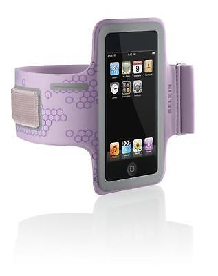 Belkin Sport Gym Armband Case for iPod Touch 1G 2G 3G 4G F8Z224-LAV Lavender