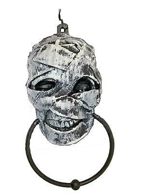 Gothic Zombie-MUMMY DOOR KNOCKER TOWEL RING-Haunted House Horror Prop Decoration