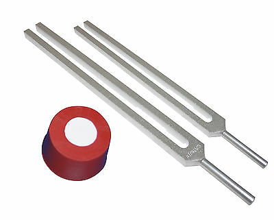 2 Healing Tuning Forks for Sinus w Activator + Pouch HLS EHS
