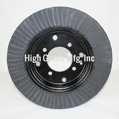 "15"" Laminated Tail Wheel Tire - 4""x15"" - 4 Bolt Pattern"