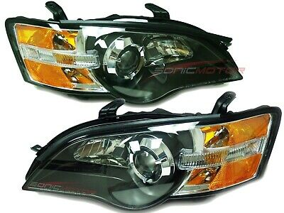 For 2005 Subaru Outback Legacy Head Lights Lamps Driver & Passenger Side LH+RH