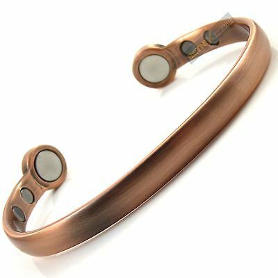 COPPER MAGNETIC BRACELET SUPER strong magnets bangle Gent's Womens Mens Ladies
