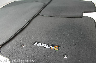 Toyota Rav4 Carpet Floor Mat Set Automatic 2005-2012 - New Genuine Accessory