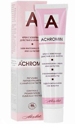 ACHROMIN® Cream - SKIN WHITENING CREAM WITH UVB 45 ml. Protects and nourishes