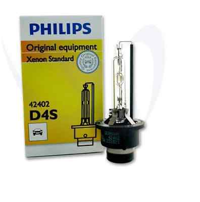 PHILIPS D4S X 1 BULB 42402 C1 FACTORY HID GENUINE XENON GERMANY REPLACEMENT OEM