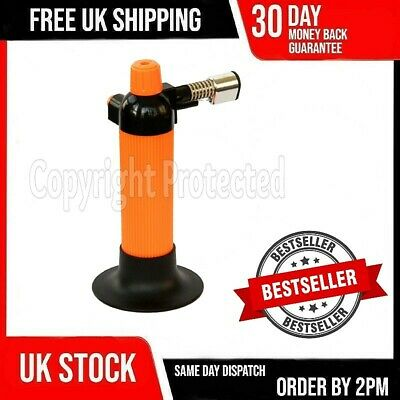 Butane Gas Mini Micro Wireless Blow Lamp Torch Cook Jeweller Soldering Welding