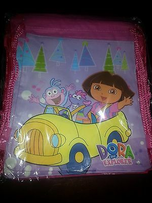 Dora The Explorer   Drawstring Backpack~Gym School Bag