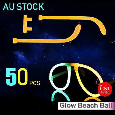 50X Multi Color Glow Sticks Glasses Light Shining Party Fun toy Glow In The Dark