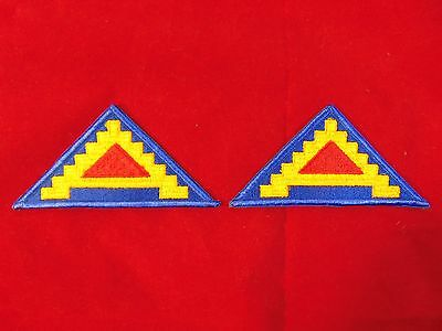 Lot Of 2 U.S. Army 7th Army Patches *Unissued With Merrowed Edge*
