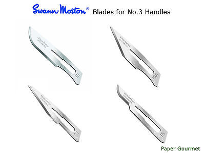 100 Scalpel Blades Swann-Morton (20 Packs of 5's)