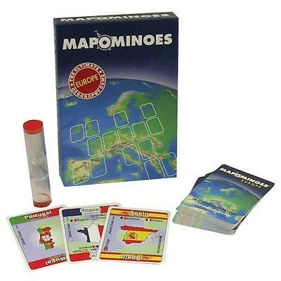 Mapominoes Travel Card Game