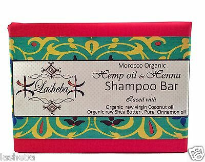 Hemp Shampoo Bar -Ayurvedic Herbs -Shea Butter-Cocoa Butter-2In1 Conditioner Bar