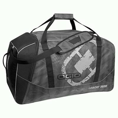 Ogio MX Loader 7600 Black Motocross Gear Bag Large Luggage Travel Dirtbike Bag