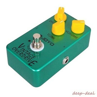 Joyo jf-01 Overdrive Guitar Pedal Vintage Overdrive Guitar Effect True Bypass Me