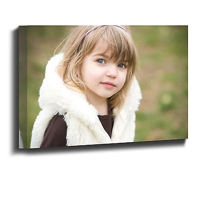 Your Picture Photo Personalised on to Print Canvas Box Framed A4 A3 A2 A1