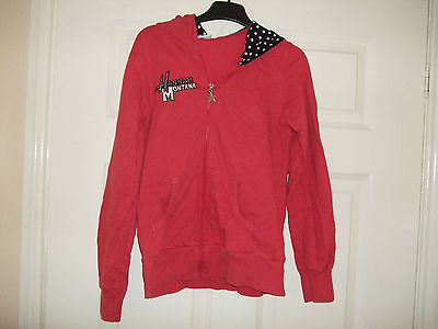 Disney Hannah Montanna Zipped Hoodie Jacket Size 12-13 Years Vgcc
