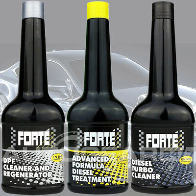 Forte DPF Regenerator, Forte Diesel Fuel Treatment, Diesel Turbo Cleaner Package