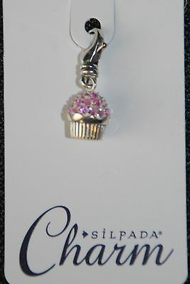 SILPADA Sterling Silver Charm Collection Fringe Benefits NIB! C2596