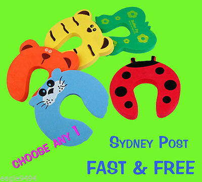 Baby Child Safety Door Stopper Finger Guard Protector. Fast FREE Post Sydney