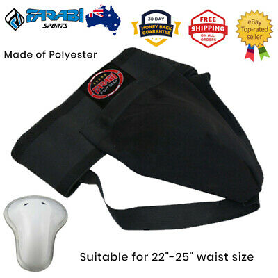 Groin Guard protector Muay thai MMA kickboxing Martial arts safety cup Junior XS