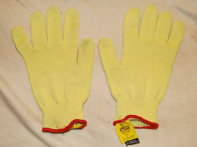 Kevlar safety gloves size 9 Large cut heat resistant medium weight woodworking