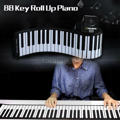 Portable Roll Up Piano 88 Keys Electronic Piano Keyboard with Midi For Children