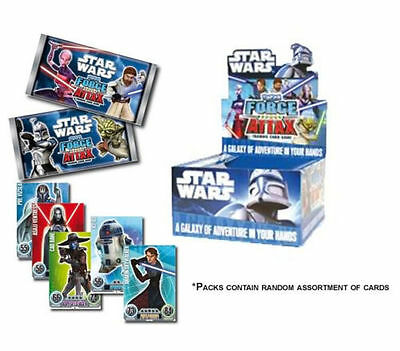 5-Card Star Wars Force Attax X 50-Booster Trading Collectible Box TOPPS Series 1