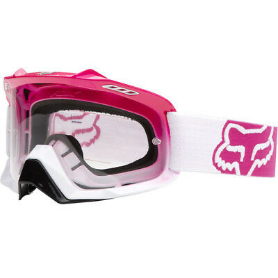 NEW Fox Racing Mx AIRSPC Hot Pink Ladies Motocross Dirt Bike Womens Goggles