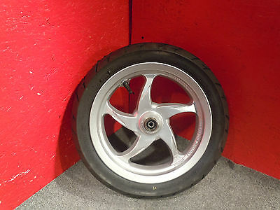 """New Hyosung Chinese 50cc Front Scooter Wheel & Tire 12 x 3.00"""" @ Moped Motion"""