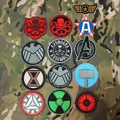 Superhero The Avengers series Embroidery Patch