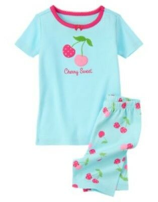 GYMBOREE SLEEPWEAR Cherry Sweet 2pc PAJAMAS GYMMIES 6 12 18 NWT