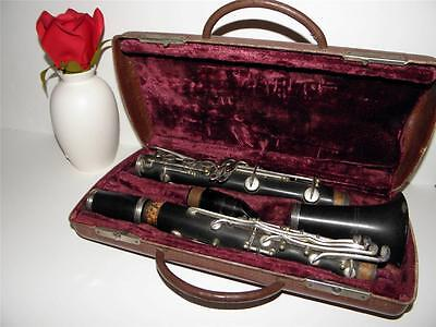 1920s Vintage PAN-AMERICAN Div C.G. Conn Ltd USA CLARINET w/ Carrying Case