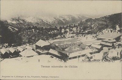 Chile Chillan Termas Minerales