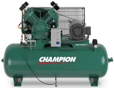 Champion Air Compressor Hrv10 8 10 Hp 80 Gal Three Phase 208 230 Volt Auto Drain 3 670 00 Picclick