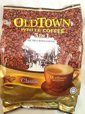 Old Town Instant White Coffee 3 in 1 Classic 40G x 15 Sachets