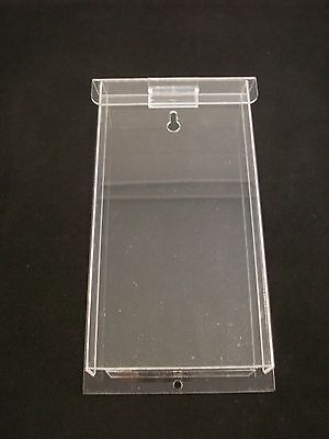 AZM Clear Outdoor Brochure Holder Tri-Fold Display 4in x 9in (3 PACK)